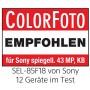 Sony SEL-85F18 Objectif 85 mm Ouverture F1.8 Plein Format pour Monture E Sony
