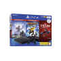 PS4 Sony 500go Console Black + Marvel's Spider + HZN + R & Z